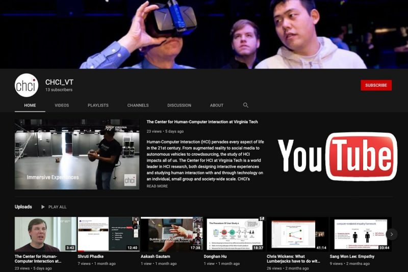 CHCI Launches Youtube Channel