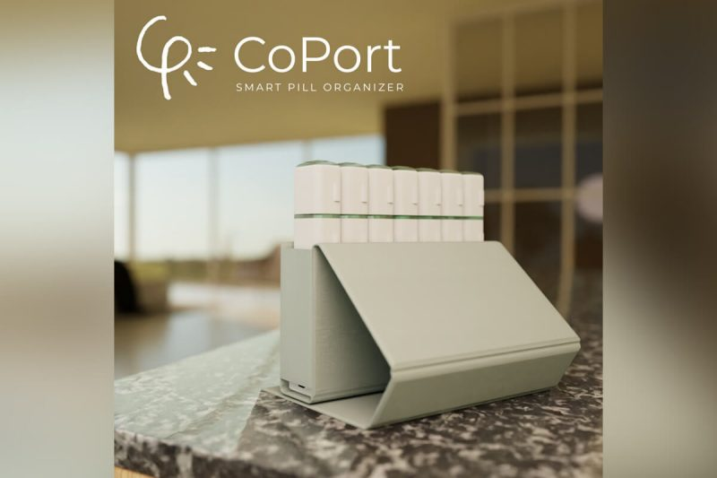 CoPort (Portable pill dispenser to prevent medical non-adherence)